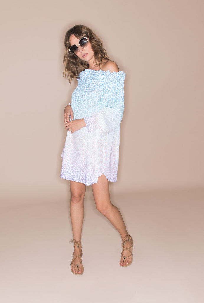 The Rainbow In The Sky Tunic Dress