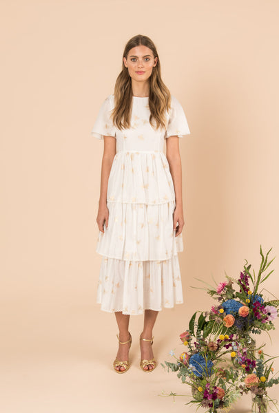In The Morning Sun Tiered Dress