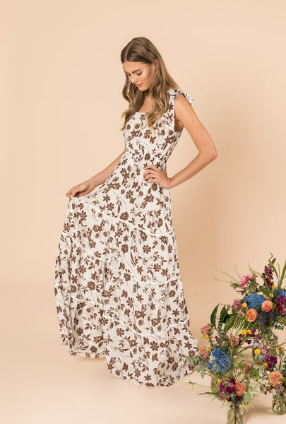 With Carly Tiered Romantic Dress