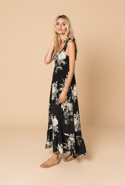 In the Still of the Night Maxi Dress