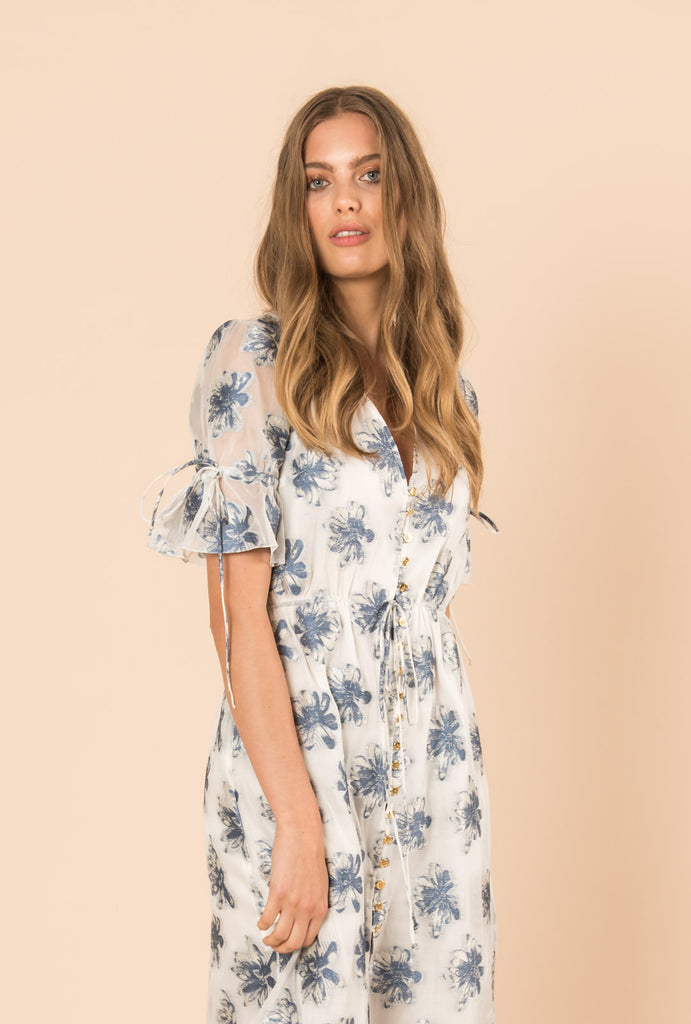 In The Hills Button Dress