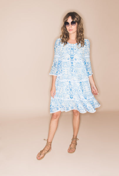 The Midsummer's Sky Frill Dress