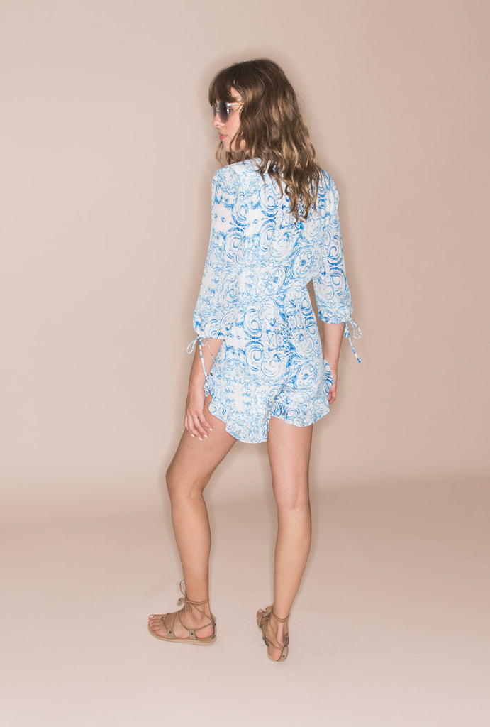 The Midsummer's Sky Playsuit