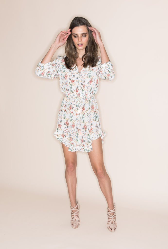 Wind Winged Dove Short Dress