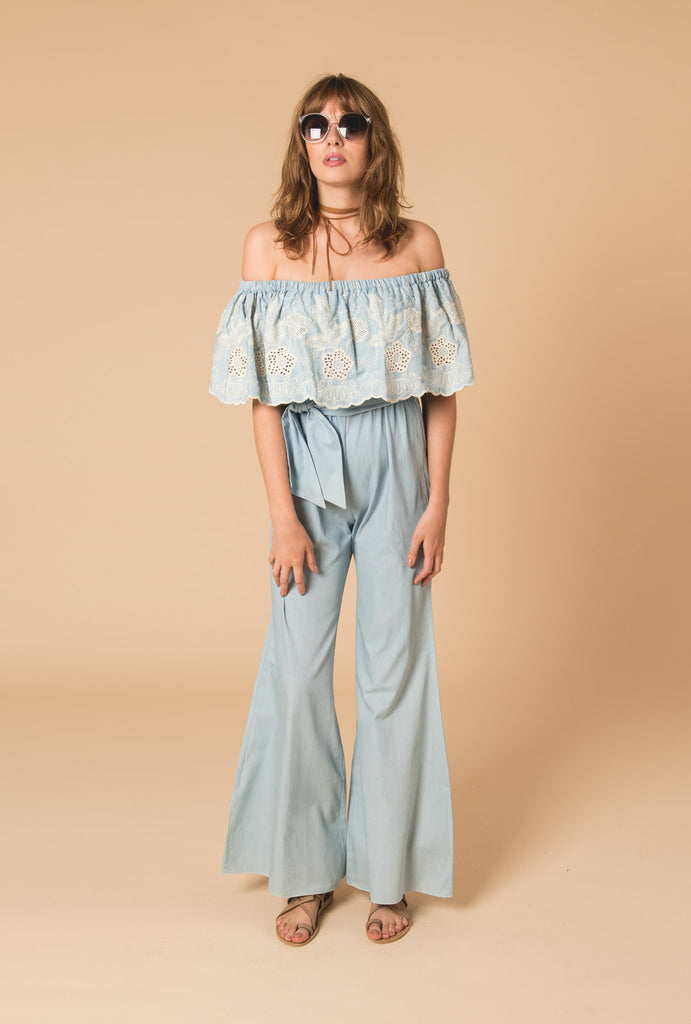 Gypset Blue Jumpsuit Blue Version