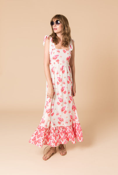 Sundown Breeze Short Bust Maxi Dress