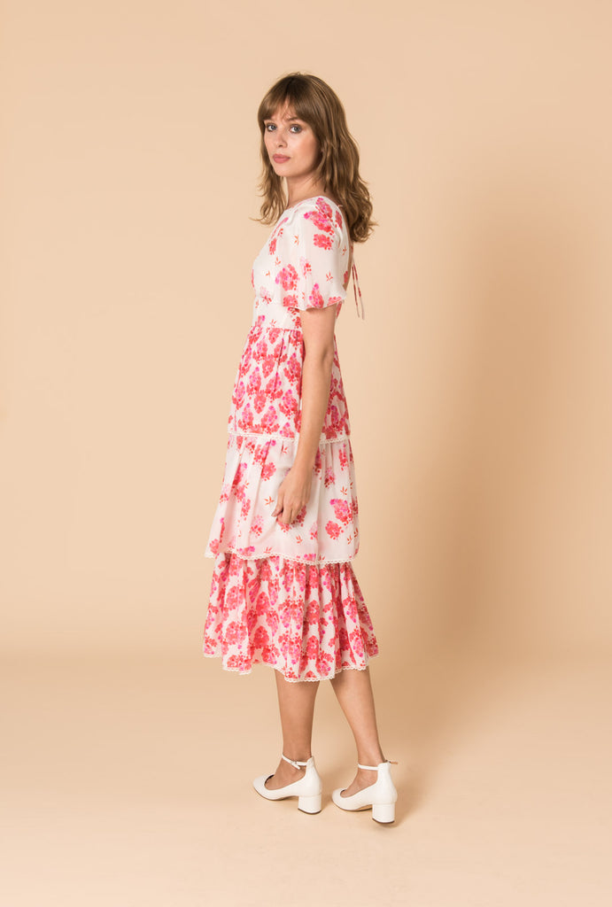 Sundown Breeze Tiered Dress