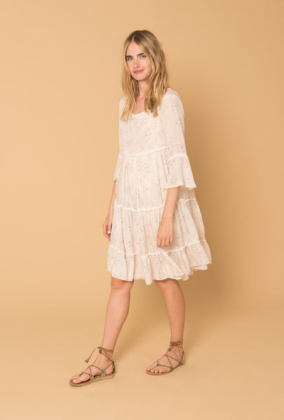 Romance in the Wind Tiered Dress