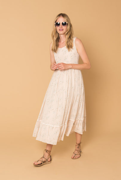 Romance in the Wind Day Dress