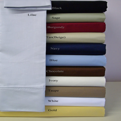 100% Microfiber Standard Pair Pillowcases