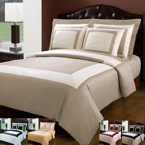 Hotel 3 or 5 Piece Duvet Cover Set