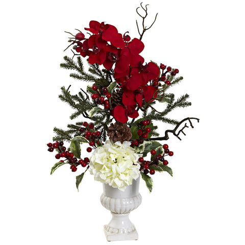 Holiday Elegance Arrangement w/Urn