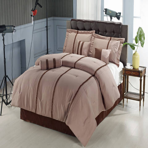 King 11-Piece Krystal Bed in a Bag