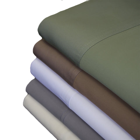 Split king TAUPE TENCEL Eucalyptus Abripedic Soft & Cool Sheets