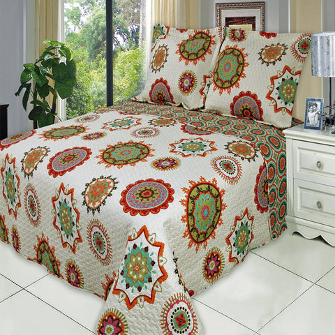 King/Calking Warm Julia Oversize Coverlet Set