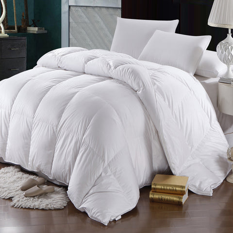 Full/Queen Oversized Winter Weight 600 Thread Count Goose Down Comforter by Abripedic