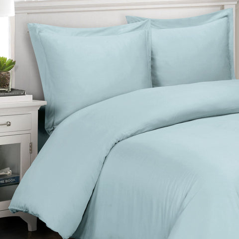 King/Calking BLUE 3PC 100% Viscose from Bamboo Duvet Covers Sets