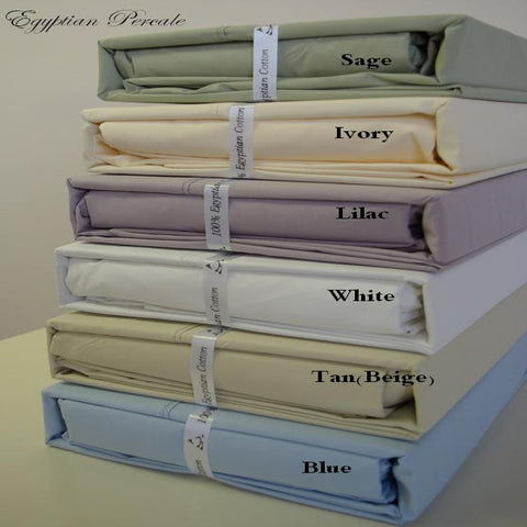 California King LILAC Ultra Soft 100% Combed cotton Percale Sheet Sets