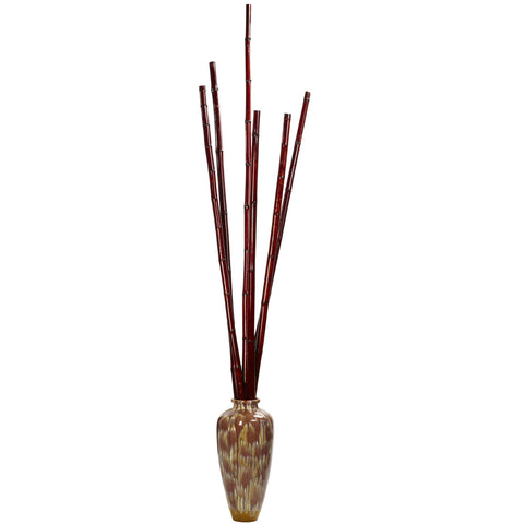 79 in Bamboo Poles (Set of 6)
