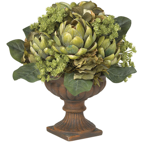 Green Artichoke Centerpiece