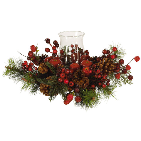 Red/Green Holiday Candelabrum