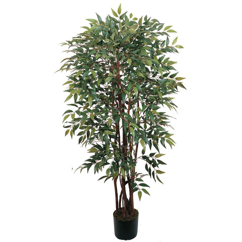 4' Potted Similax Silk Tree
