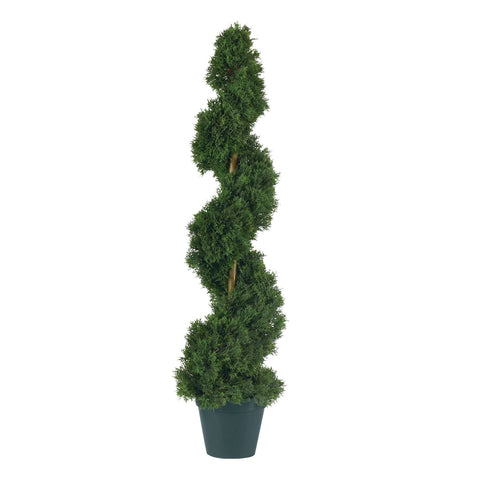 3' Cedar Spiral Silk Tree (In-door/Out-door)