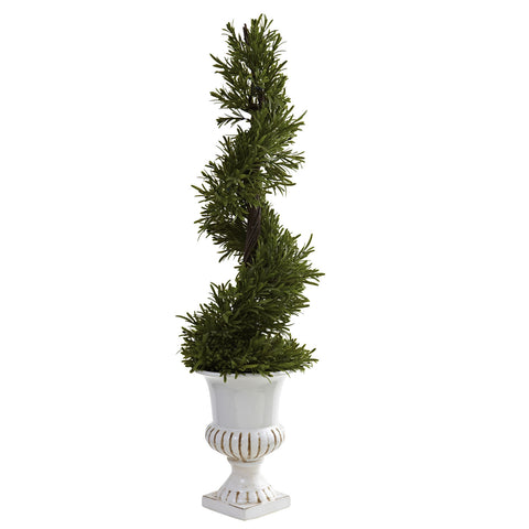 3' Rosemary Spiral w/Urn (Indoor/Outdoor)