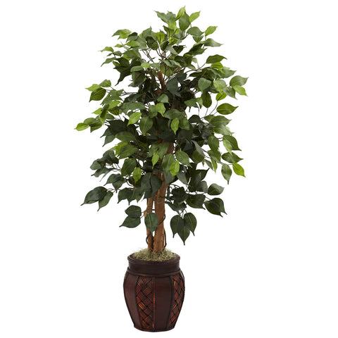 "44"" Ficus Tree w/Decorative Planter"