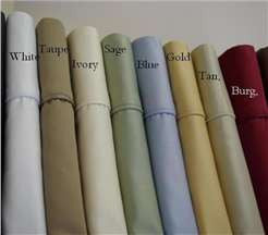 Standard Pair Pillow Cases 600 Thread count Soild Egyptian cotton