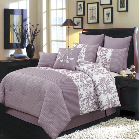 PURPLE Bliss Luxury Comforter Set