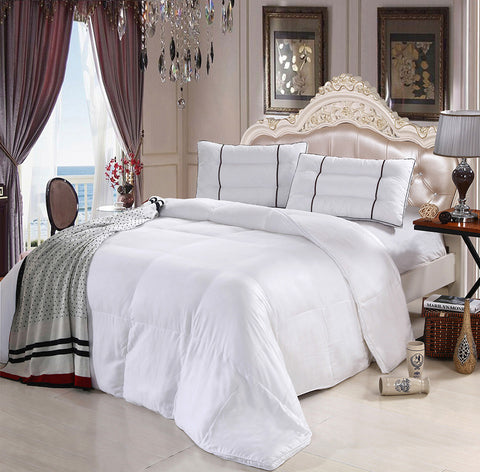 Ultra Soft 100% Bamboo Down Alternative Comforter by Royal Hotel Collection