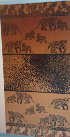 """Tiger Land"" 40x70 Egyptian Cotton Beach Towel Scotts-sales.com"