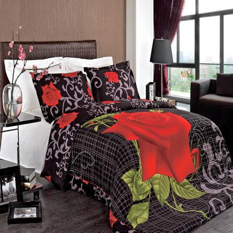 Full/Queen Hayden Combed Cotton 3pc Duvet Cover Set