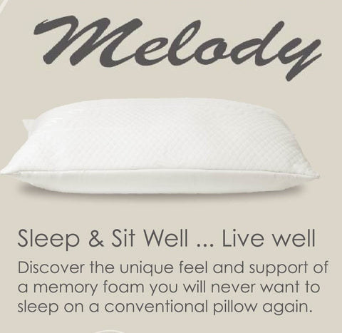 Melody by Abripedic Memory Foam Pillow Special Luxury Edition (each)