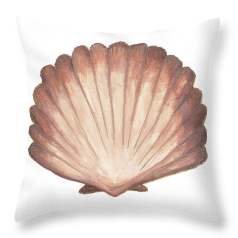 Coastal Modele Throw Pillow