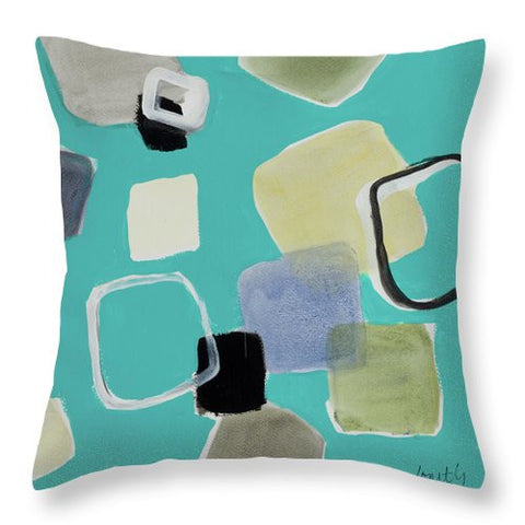 In The Moment II Throw Pillow