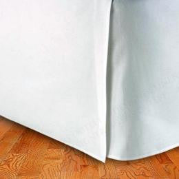 Twin XL Egyptian Cotton Solid Bed Skirt 300 Thread count