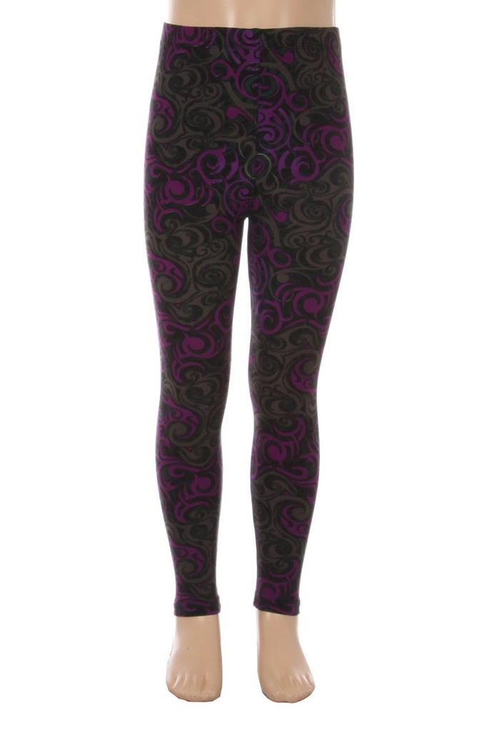 PURPLE TANGLE - ShesGotLeggings