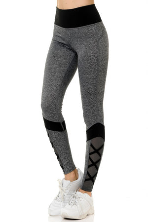 CRISS CROSS ANKLE LEGGINGS