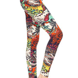TROPICAL PAISLEY LEGGINGS