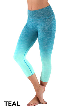 OMBRÉ FUSION~PLUS SIZE LEGGINGS