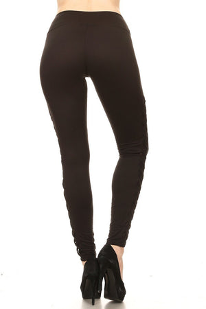 CRISSCROSS MESH LEGGINGS - ShesGotLeggings