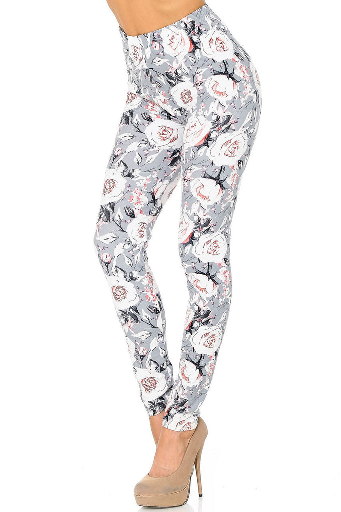 DUSKY FLORAL LEGGINGS