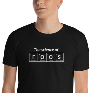 The Science of FOOS Foosball T-Shirt