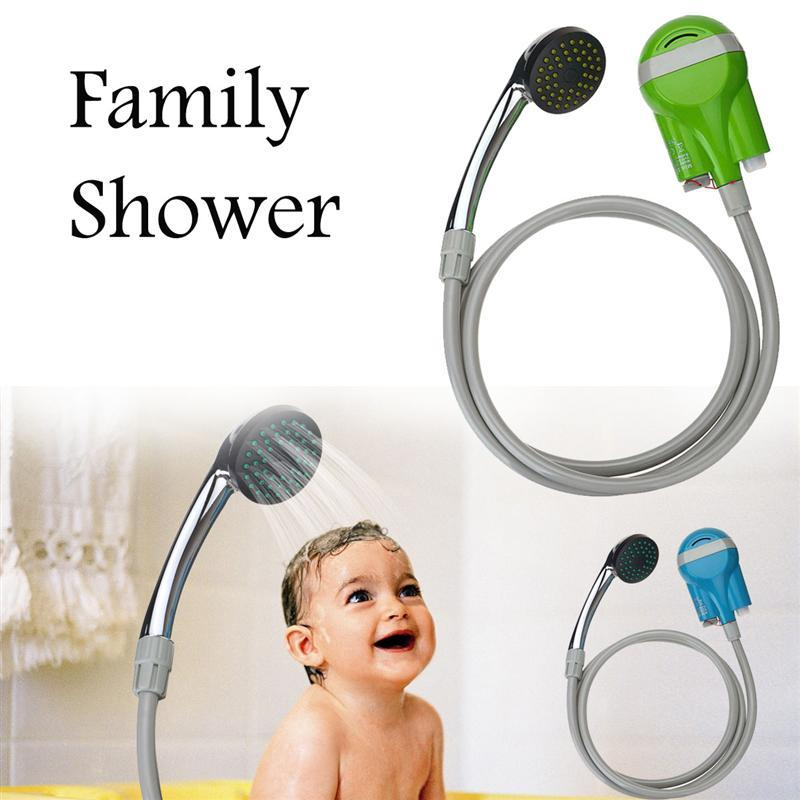 Innovative USB Portable Outdoor Shower