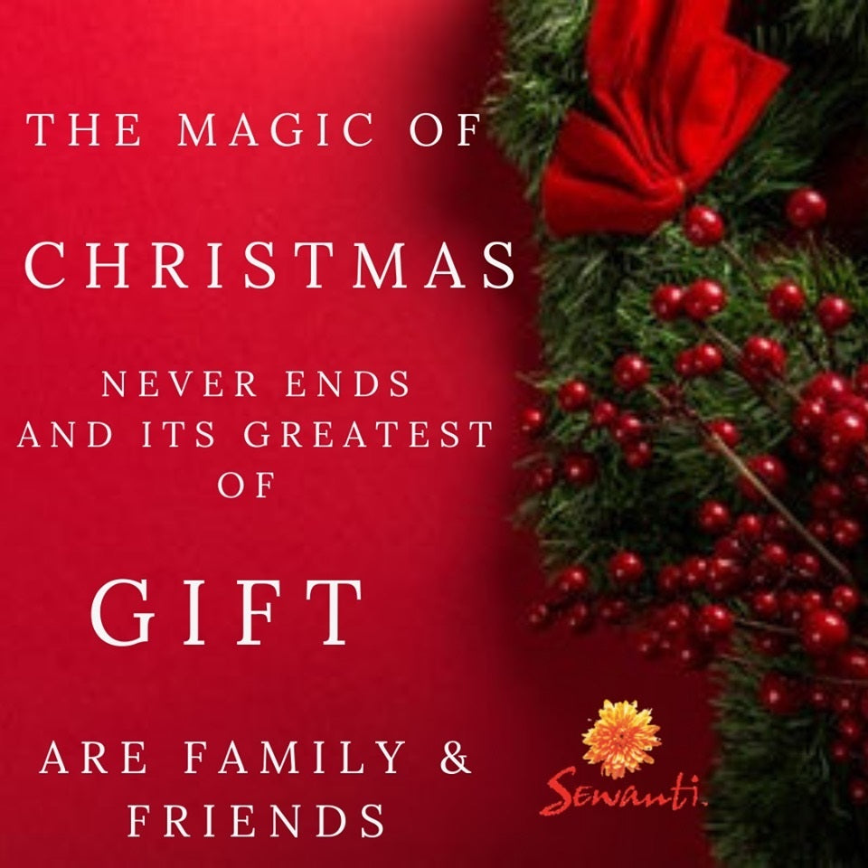 The Magic of Christmas - Enjoy 20% OFF on your favorite Sewanti Capsules & Ayurvedic Oils