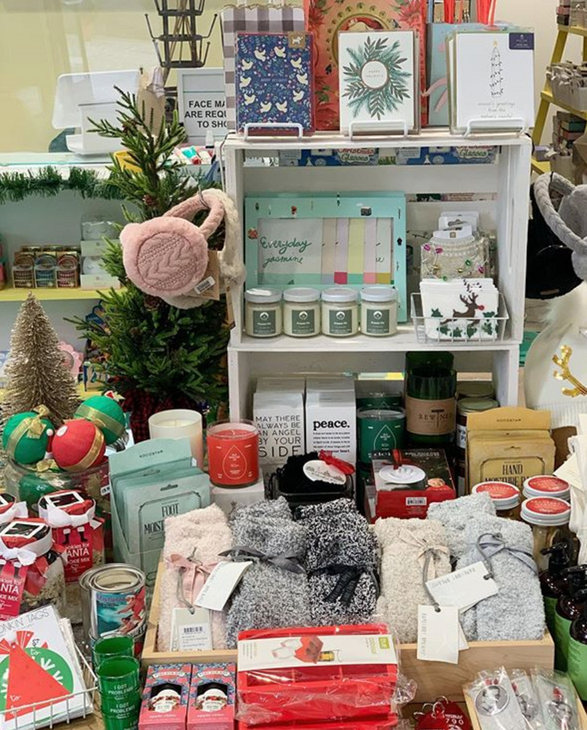 Ornaments, cards, and other holiday gift ideas are here!