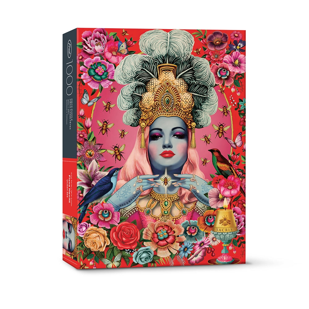 Flower Woman 1000 Piece Puzzle from Diament Jewelry, a gift shop in Washington, DC.
