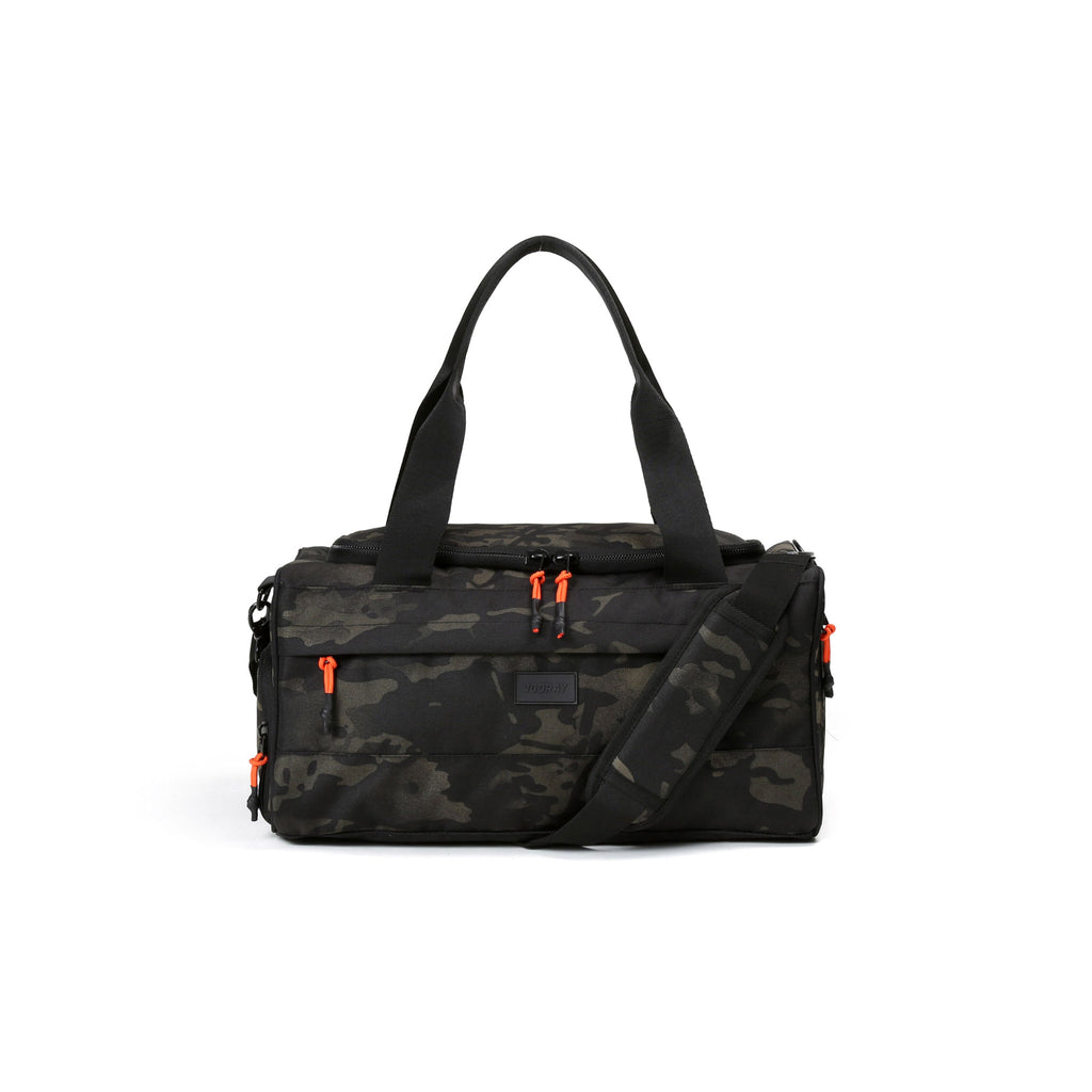 Boost Camo Duffel Bag from Diament Jewelry, a gift shop in Washington, DC.